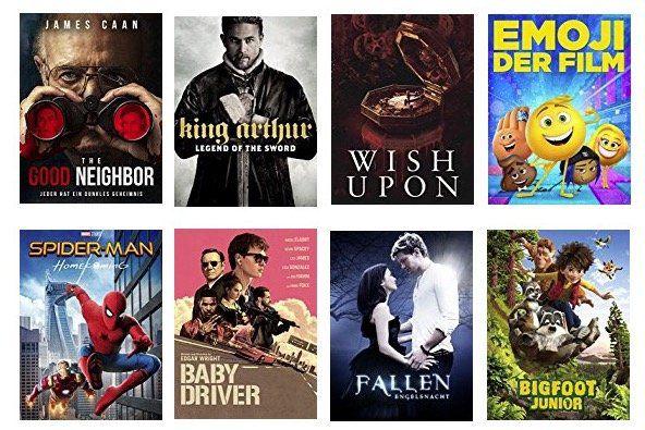 Ausgewählte Filme in HD für 0,99€ bei Amazon ausleihen   z.B. Spider Man: Homecoming