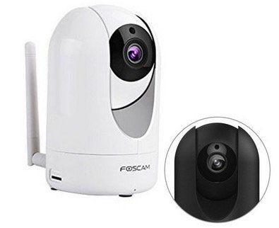 Foscam R2 IP Kamera   drehbare und schwenkbare 2 MP HD Innen Kamera für 95,90€ (statt 110€)