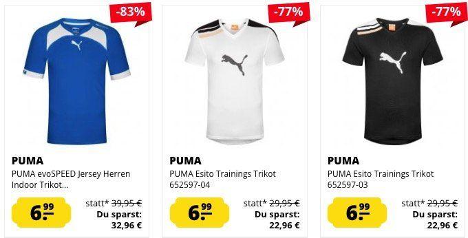 Puma Herren Sport Trikots ab 6,99€