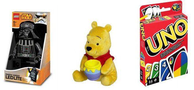Günstiges Spielzeug bei TOP12   z.B. Lego Star Wars LED Taschenlampe Darth Vader für 19,12€ (statt 28€)