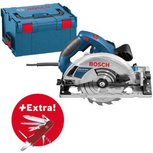 Bosch GKS 65 GCE Handkreissäge in einer L Boxx für 199,99€ (statt 245€) + gratis Victorinox Taschenmesser mit 14 Funktionen