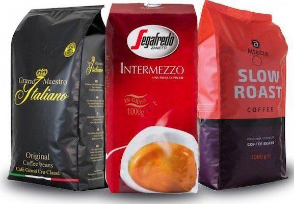 3kg Best Beans Kaffeebohnen Probierpaket für 29,99€