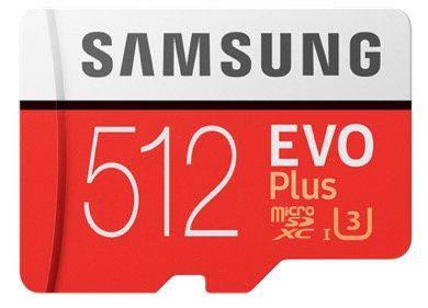 Samsung MicroSDXC EVO Plus   512GB  Speicherkarte für 59€ (statt 73€)
