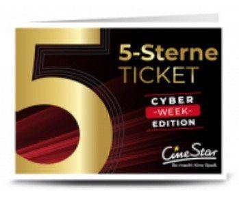 Cinestar 5 Sterne Ticket bei Groupon für 27,50€ (statt 35€)   3D Filme mit Aufschlag