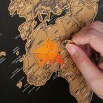 XXL Rubbel-Weltkarte für 3,07€