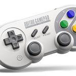 8Bitdo SF30Pro Bluetooth Gamepad mit Smartphone-Halterung für 30,12€