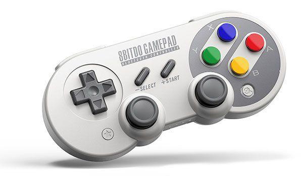8Bitdo SF30Pro Bluetooth Gamepad mit Smartphone Halterung für 30,12€