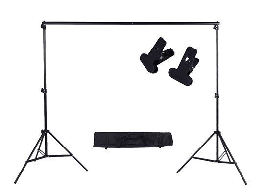 Hintergrundsystem (2x3m) für Hobbyfotografen für 22,16€ (statt 34€)