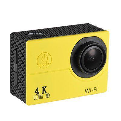 V3   wasserdichte Action Cam mit 4K, 30FPS, WLAN, 170° für 24,48€