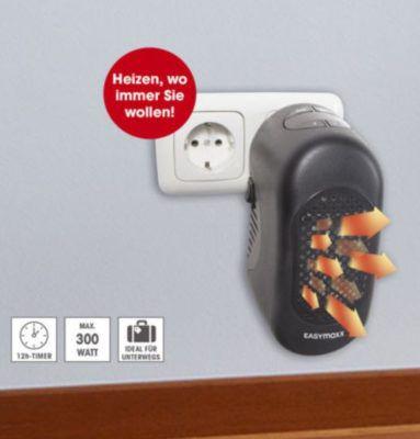 EASYmaxx elektrische Mini Heizung 300W für 22,99€ (statt 40€)