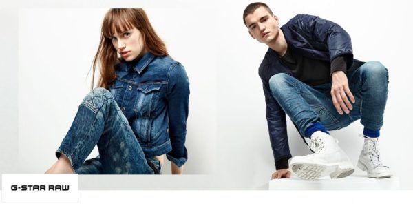 G Star RAW Damen und Herren Fashion mit bis zu 65% Rabatt