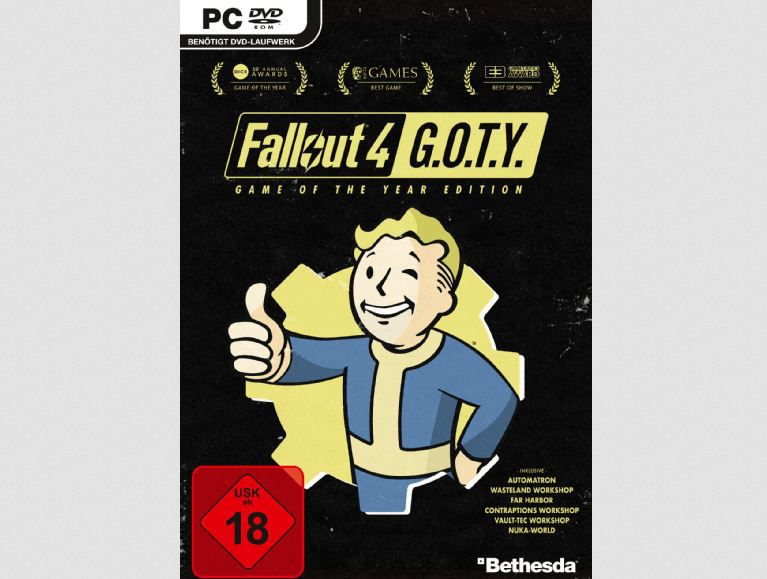 Saturn Weekend Sale: z.B. 5 Blu rays für 25€   günstige Spiele wie  Fallout 4 G.O.T.Y. für 16,99€