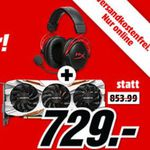 GIGABYTE GeForce GTX 1080 Ti + HYPERX Gaming Headset + Destiny 2 & Mittelerde PC für 729€
