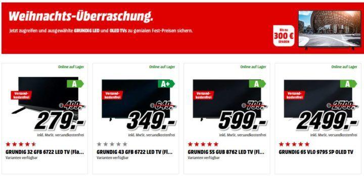 Grundig TV Sale   z.B. GRUNDIG 65 Zoll OLED TV für 2.499€