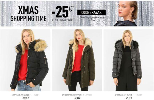 Pimkie mit 25€ extra Rabatt ab 70€   günstige Damen Fashion wie Jacken & Co.