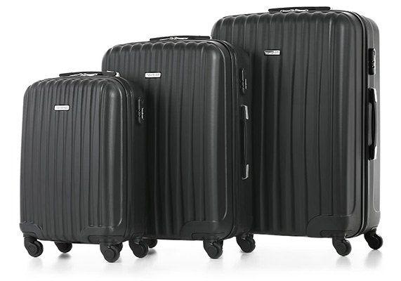 TOMSHOO   Hardcase Koffer im 3er Set in vielen Farben für je 64,91€ (statt ~80€)