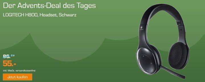 LOGITECH H800   Bluetooth Headset statt 80€ für 55€