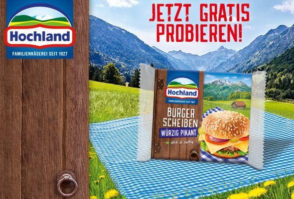 Hochland Käse kostenlos