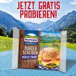 Hochland Käse gratis testen dank Geld zurück Garantie