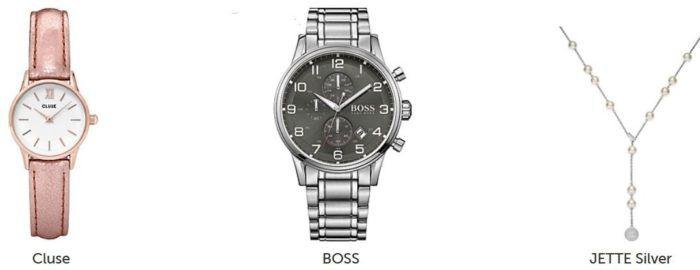 Christ Outlet Sale günstiger Schmuck und Uhren   z.B.  30% Rabatt auf Jette Artikel
