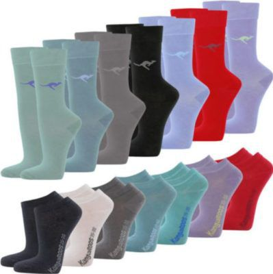KangaROOS  Damen Socken & Sneaker 12 Paar für 11,99€