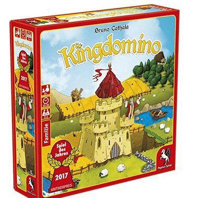 Pegasus 57104G Kingdomino Brettspiel für 7,99€ (statt 13€)   Prime Day