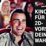 Nur für Telekom Kunden: Kinogutschein für eine 2D-Vorstellung geschenkt