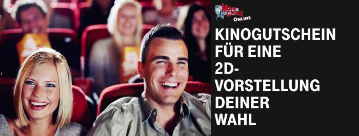 Nur für Telekom Kunden: Kinogutschein für eine 2D Vorstellung geschenkt