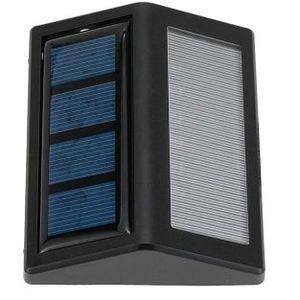 Solar Wandleuchte mit 30 LEDs & Sensor für 5,30€