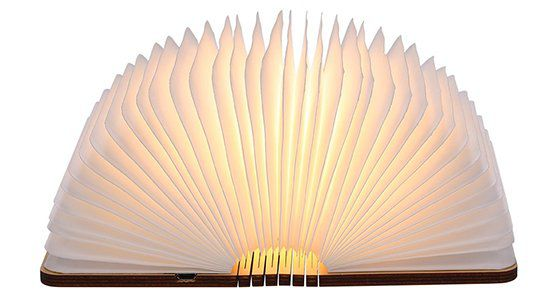 Faltbares LED Mini Buch für 13,75€