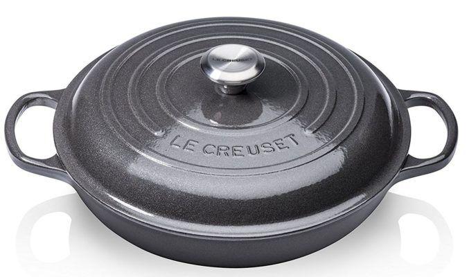 Le Creuset Signature Gourmet 30cm Profitopf Grau statt 199€ für 149,99€ [Prime!]