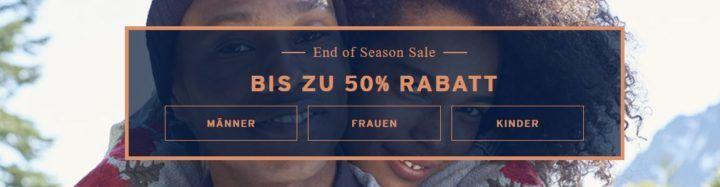 Levis: End of Season Sale mit bis zu 50% Rabatt + 20% Gutschein