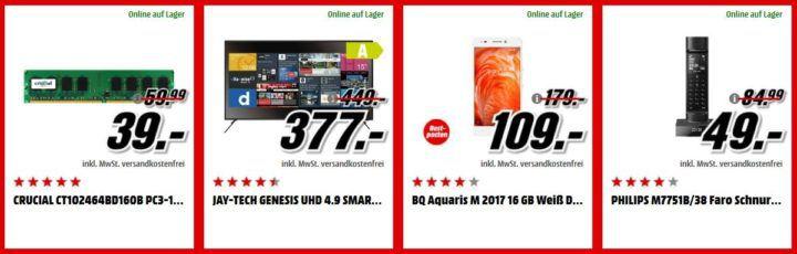 Media Markt Adventskalender Tag3: z.B. SPECIAL.T MINI.T Teemaschine statt 85€ für 45€