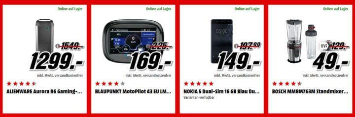 Media Markt Adventskalender Tag 18: z.B. BOSCH MMBM7G3M Standmixer Edelstahl für nur 49€