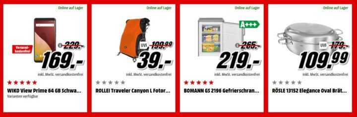 Media Markt Adventskalender Tag 23: z.B. ROLLEI Fotorucksack statt 179€ für 39€