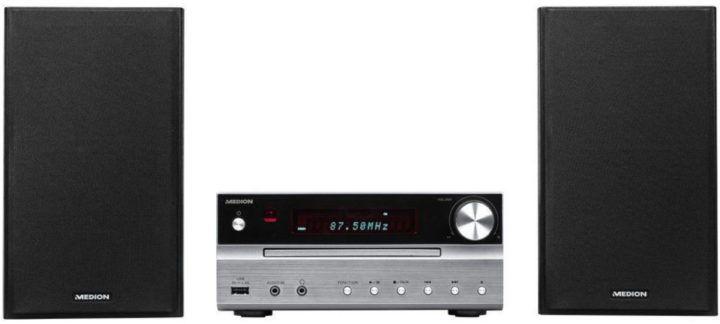 MEDION LIFE P66063 Micro Audio System mit Bluetooth und USB für 84,99€