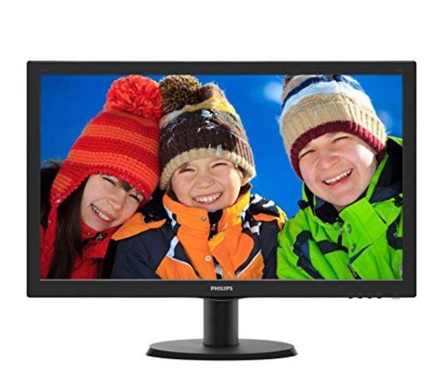 PHILIPS 243V5QHSBA   24 Zoll FullHD Monitor für 79€ (statt 118€)