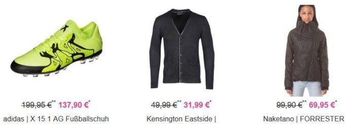 Vaola Lifestyle SALE bis 60% + 15% extra Rabatt   günstige Bekleidung, Schuhe, Rucksäcke z.B. Naketano FORRESTER II Damen Jacke für 59,46€