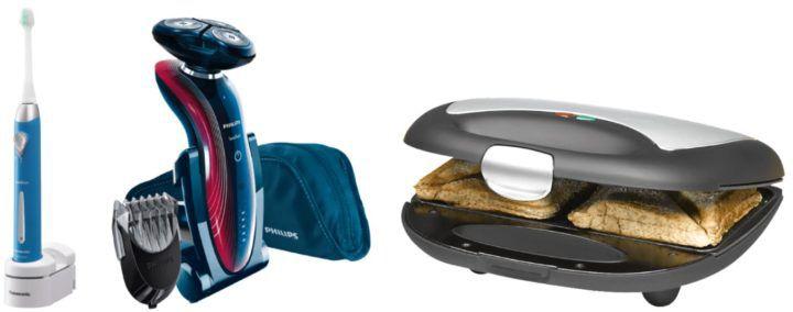 Saturn Online Offers: z.B. ROMMELSBACHER ST 710 Fun For 2 Sandwichmaker für 14€