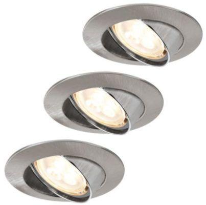 Paulmann Einbauleuchten  3er Set 4W LED statt 45€ für 19,90€