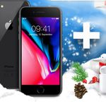 Apple iPhone 8 + Airpods + Case für 1€ + z.B. O2 Allnet & SMS Flat + 10GB LTE ab 49,99€mtl.