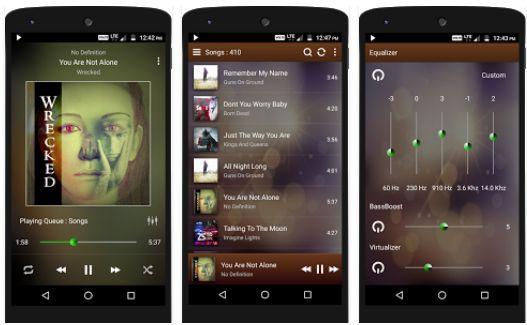 PowerAudio Pro Music Player (Android) gratis statt 0,59€