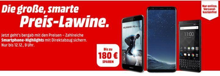 Media Markt Smartphone Lawine: günstige Phones z.B. HTC U11 64GB für 459€