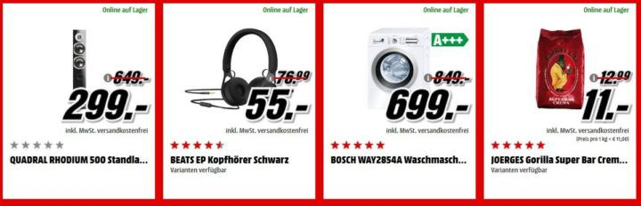 Media Markt Adventskalender Tag 5: z.B. ASUS ZenFone 4 Max  Smartphone statt 228€ für nur 169€