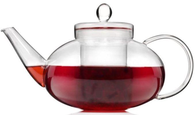 Sänger Teekanne aus Glas mit Teesieb 1.4 L für 10,99€