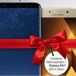 Samsung S8 + Galaxy A5 (2017) + Magenta M AllNet & SMS Flat + 4GB LTE + Hotspot für eff. 55,32€ mtl.