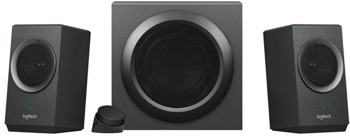 Logitech Z337 Bluetooth 2.1 Lautsprechersystem mit 80 Watt und Subwoofer für 48,49€ (statt 58€)