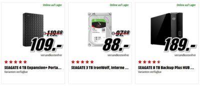 Media Markt Mega Marken Sparen: günstiges von Seagate, MSI, TomTom und Melitta