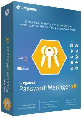 Steganos Passwort Manager 18 kostenlos