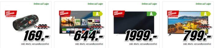 Media Markt Spätshoppen mit günstigem für Haushalt & Küche, Foto & Freizeit, Gaming & Computer und viele mehr!